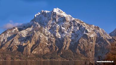 Photo: unser hausberg, der traunstein