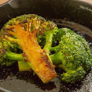 Caramelized Broccoli.