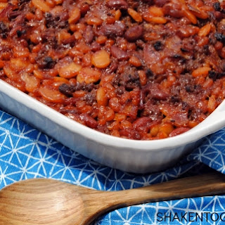 Calico Beans {or the BEST Baked Beans} Recipe