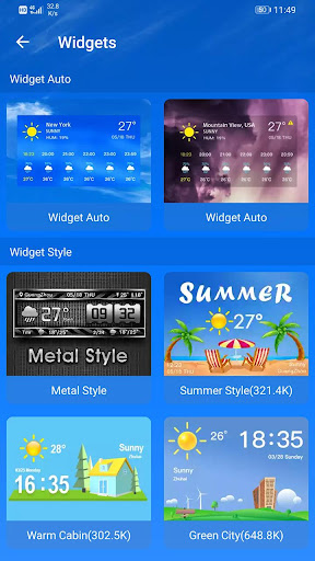Weather Forecast 2.3.32 screenshots 8