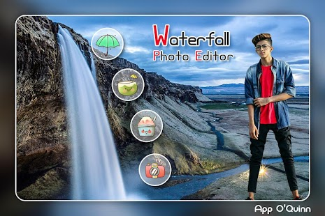 Waterfall Photo Editor - náhled