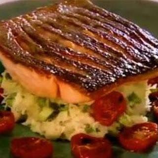 Gordon Ramsay's Crispy Salmon.