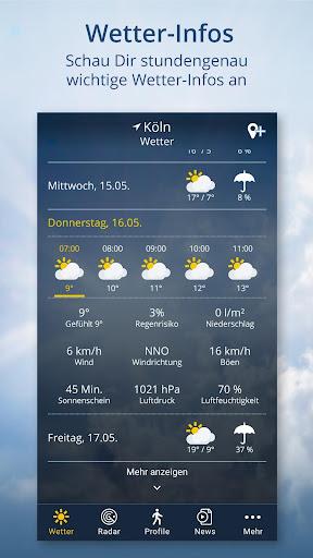 Wetter.de screenshot 2