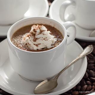 Sugar Free Coffee Creme Brulee.