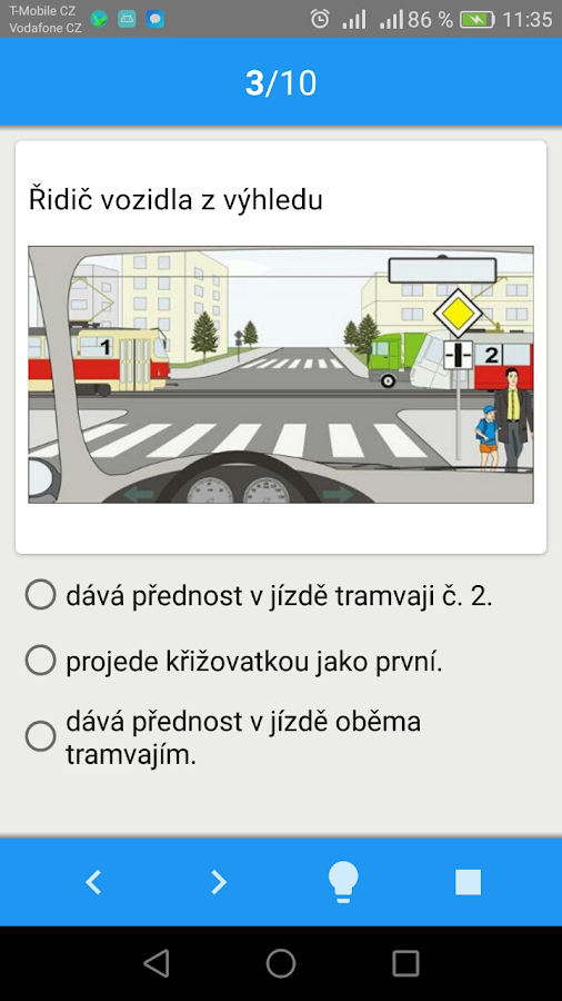 Autoškola testy 2017- screenshot