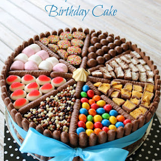 Easy Chocolate Birthday Cake.