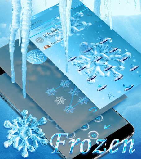 Ice Snow flake Live Wallpaper 2020 Theme screenshots 2