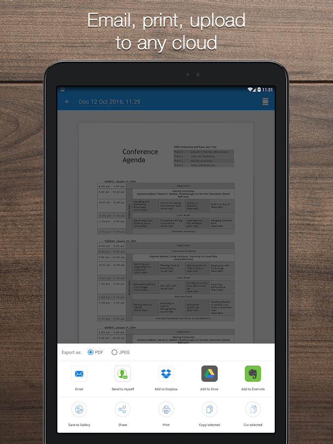 iScanner: PDF Scanner App Free- screenshot