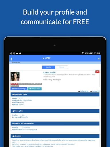 Christian Dating For Free App 15.5 screenshots 9