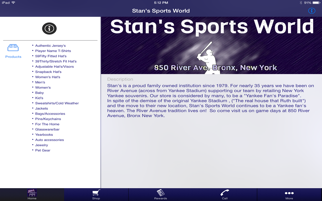 Stan's Sports World- screenshot