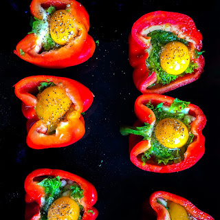 Egg Stuffed Bell Peppers Recipes