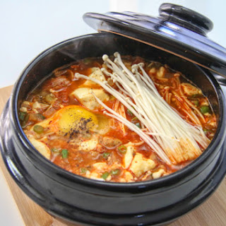 Kimchi Soondubu Jjigae