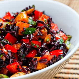 Thai Black Rice Salad.