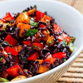 Thai Black Rice Salad.