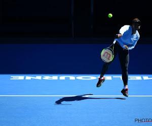 Serena Williams maakt te veel fouten en ligt nu al uit de Australian Open