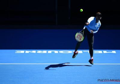 Serena Williams maakt te veel fouten en ligt uit de Australian Open
