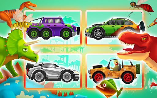Fun Kid Racing Dinosaurs World screenshot 9