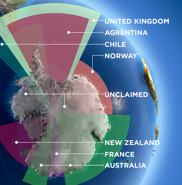 Is Antarctica a country? Who owns it?