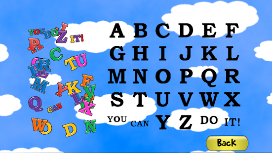 ABC Puzzle Game for Kids Screenshot