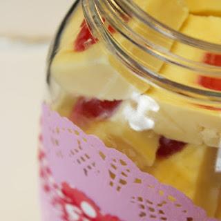 Cherry Almond Fudge|Valentines Day post
