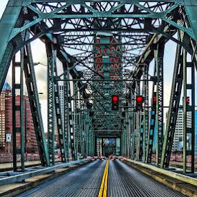 Hawthorne Bridge by Dennis Mai - Buildings & Architecture Bridges & Suspended Structures