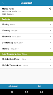 Mensa Salzburg - náhled