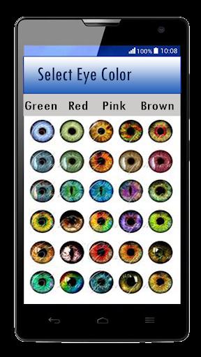 Eye Color Changer u2013 Eye Lens Photo Editor  screenshots 1