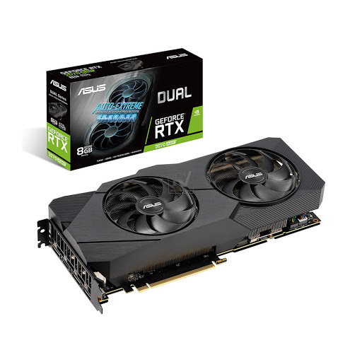 Card màn hình Asus Dual GeForce RTX 2070 Super EVO 8GB GDDR6 (DUAL-RTX2070S-8G-EVO)