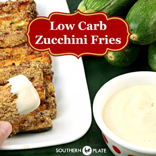 Low Carb Zucchini Fries - YUM!.
