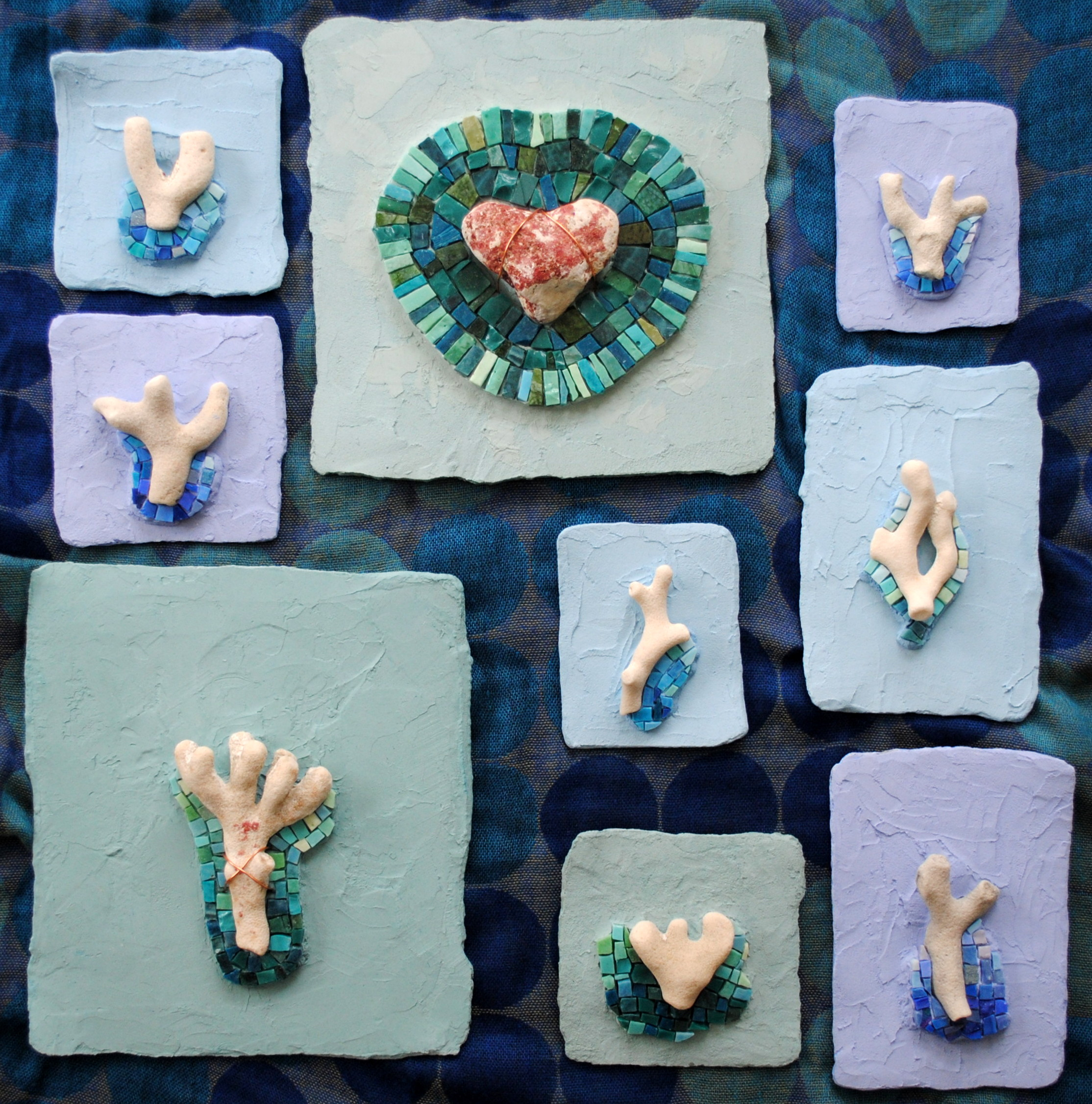 Mosaic Art Coral Series