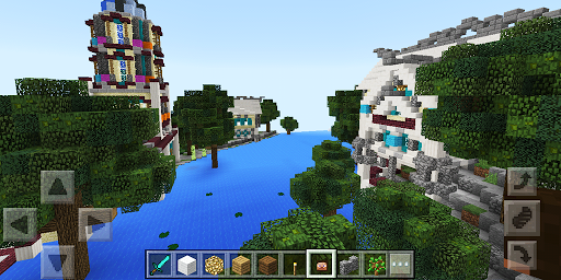 Atlantis. Map for Minecraft for PC