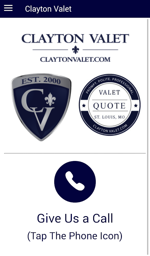 Clayton Valet- screenshot