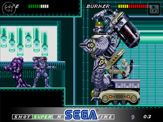 ESWAT: City Under Siege Classic- screenshot