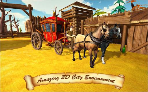 Horse Taxi City Transport: Horse Riding Games painmod.com screenshots 8