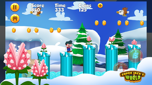 Super Jack's World - Super Jungle World screenshot 7
