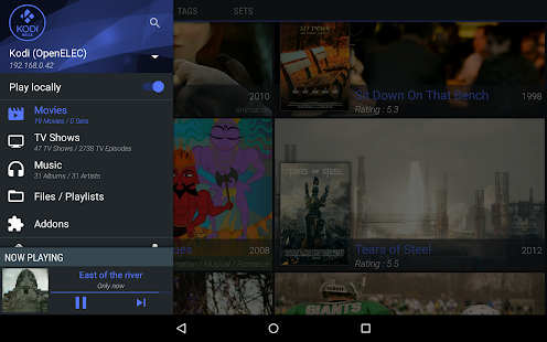 Yatse, the XBMC / Kodi Remote - screenshot thumbnail