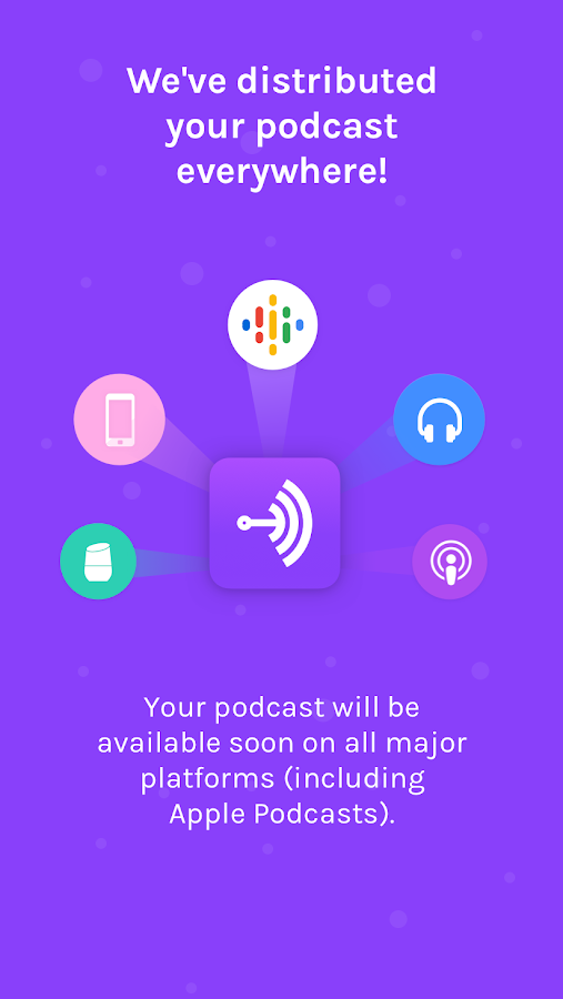 Anchor - Make your own podcast- screenshot
