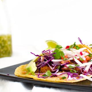 Skillet-Charred Fish Tacos