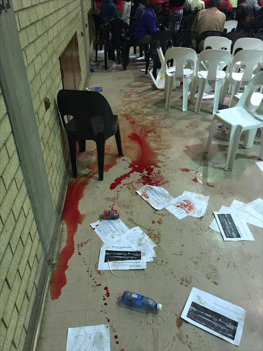 ANC councillors violently attacked those attending a meeting in Midrand on Tuesday night. Picture: City of Johannesburg