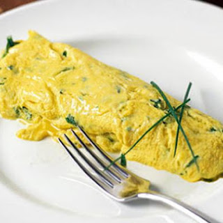 Bacon and Vegetable Omelette