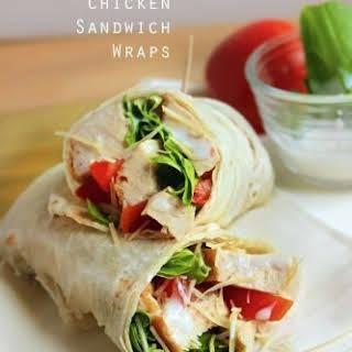 Grilled Chicken Sandwich Wraps.
