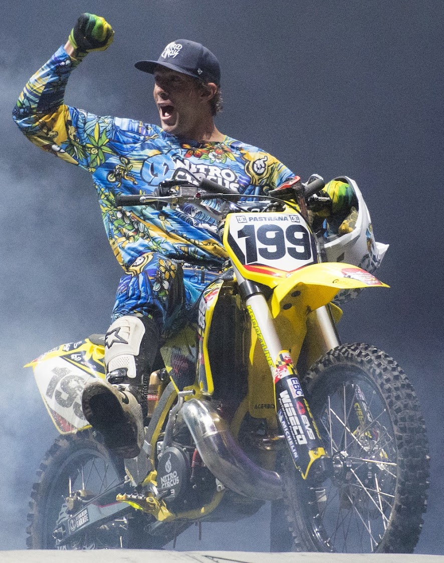 Travis Pastrana. Picture: SUPPLIED