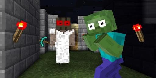 Mod Granny Horror for Minecraft PE 1.0 screenshots 2