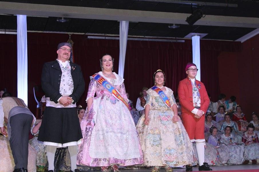 La Falla del Poble de Alboraya celebra la proclamación de sus Falleras Mayores