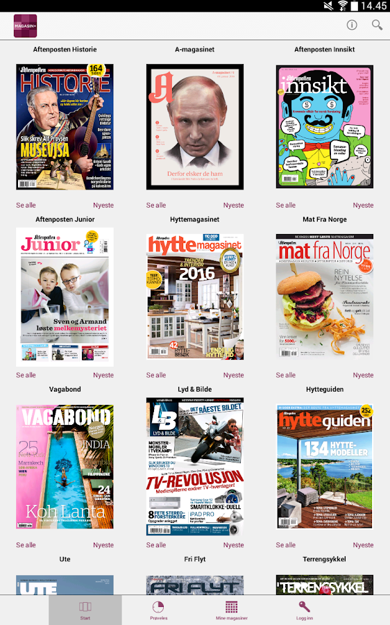 MAGASIN+- screenshot
