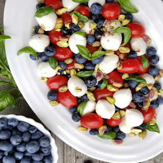 Blueberry Caprese Salad.