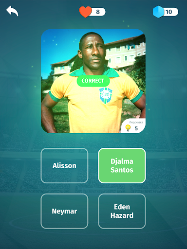Football Quiz - Guess players, clubs, leagues screenshots 10