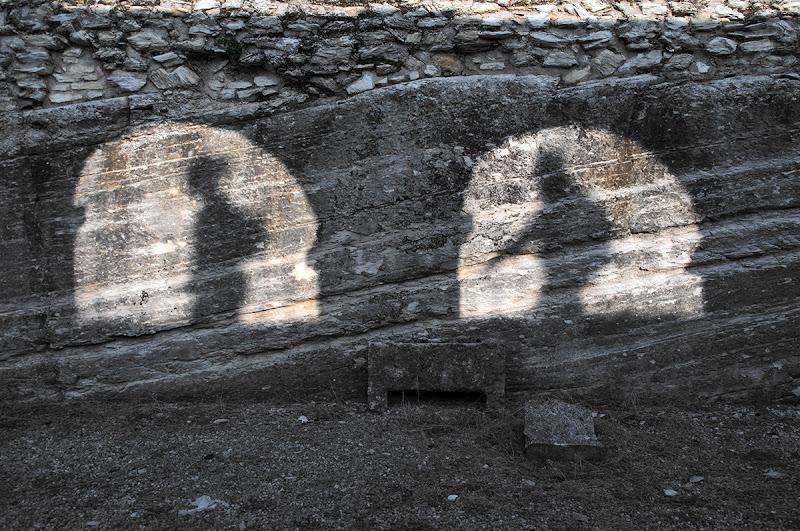 Camminando in ombra! di Pietro Forti