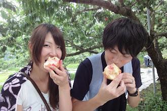 Photo: あふれる果汁 あふれる 笑顔