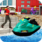 Pizza Delivery Jet Ski Fun icon